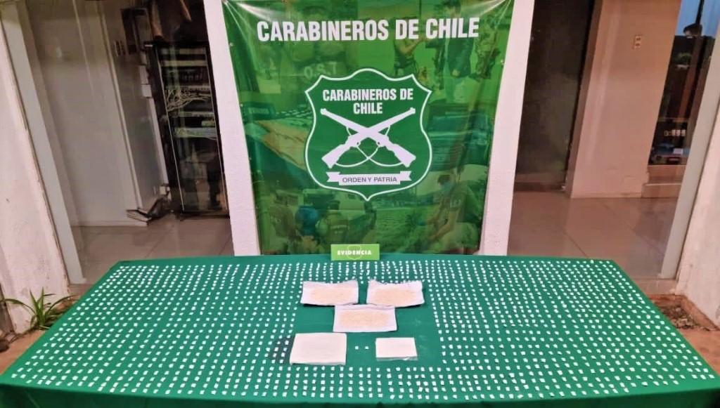 3 detenidos por trafico de drogas en Villas los Álamos y 250 años en San Felipe